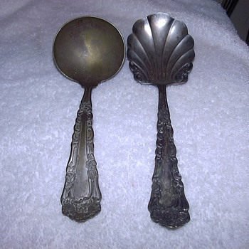 SILVER LADLES