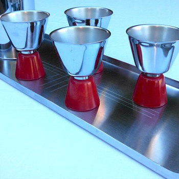 Art Deco Revere Zephyr Cocktail Set - Art Deco