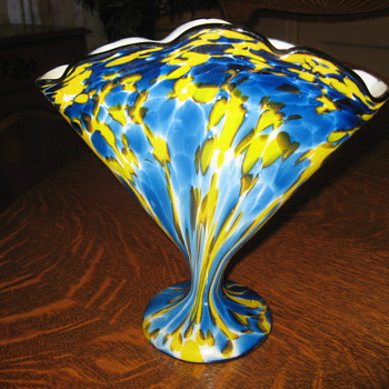 Franz Welz fan vases - Art Glass