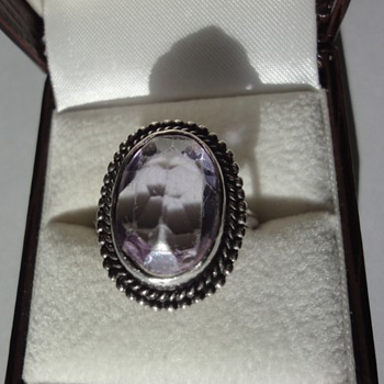 My mother&#039;s silver ring - Fine Jewelry