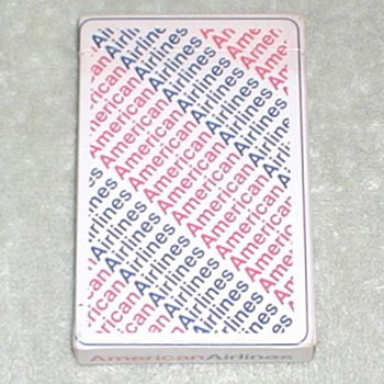 American Airlines Playing Cards - Cards