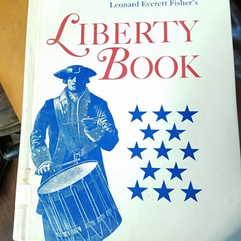 vintage books for the Fourth of July - Books