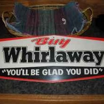 Whirlaway sign - Signs
