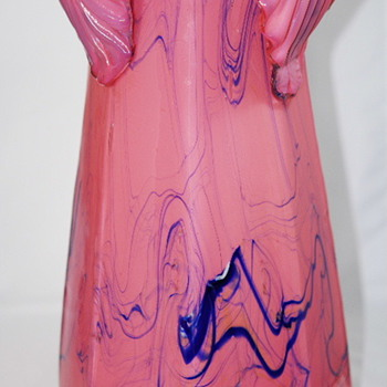 KRALIK PINK VASE - Art Glass
