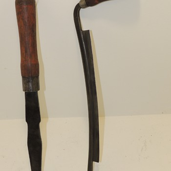 Sheldon Drawknife and Massive Chisel - Tools and Hardware