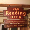 Old Reading Beer Sign