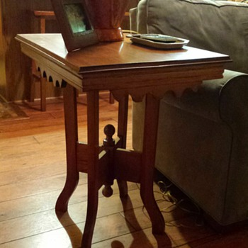 End tables gifted from Mother in Law - Furniture