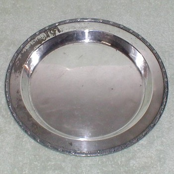 Meriden Silverplate Deep Platter