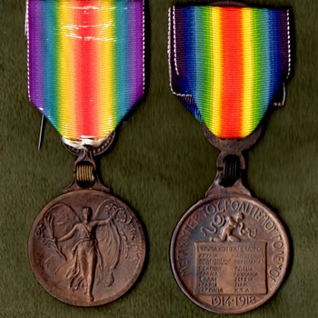 The WWI Victory Medal Series  Greece - Military and Wartime