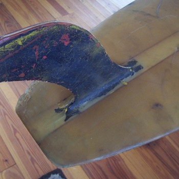 "LATE 50""s UFO SURFBOARD/LONGBOARD /BUILT BY RICK BOARDS - Outdoor Sports"