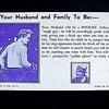 "AMUSEMENT PARK FORTUNE CARD FROM PENNY ARCADE, Late 1930s Early '40s--""You'll Marry A PUGILIST"