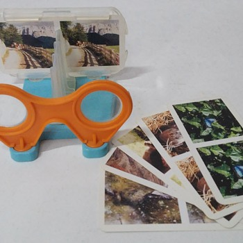 Kinder Maxi Surprise 3D Stereoscope