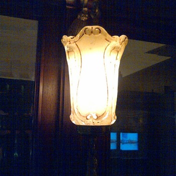 Saginaw's Castle Museum Mystery Post #2 - Lamps