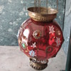 Antique hanging globe lamp collected in India