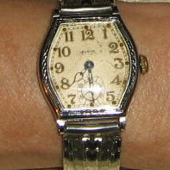 Elgin watch from farm sale in 1970s
