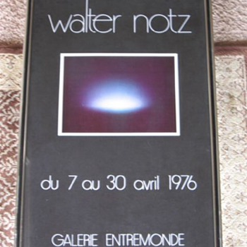 Exibition Poster for Walter Notz Sculptor  - Posters and Prints
