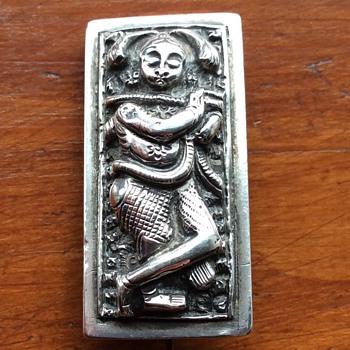 Silver Warrior brooch ? - Silver
