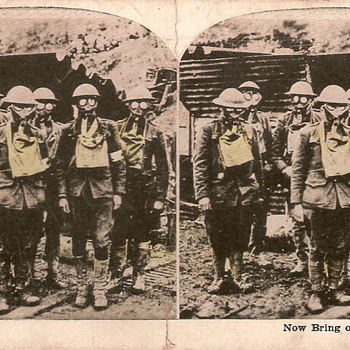 Gas Mask Stereoview