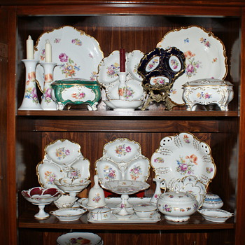 Some of my collection - China and Dinnerware