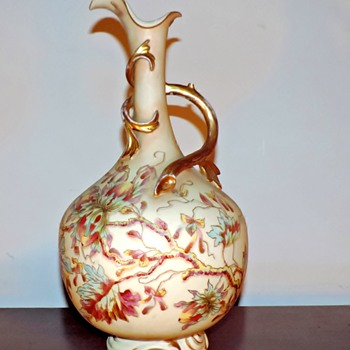 Royal Rudolstadt 19th c. porcelain ewer