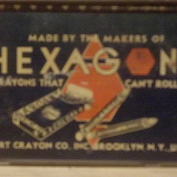 Old Crayon Tin