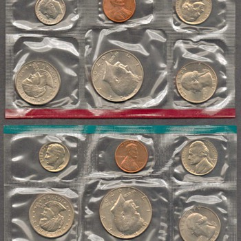 1979 - U.S. Mint Coins Set - US Coins