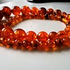 Vintage Faux Amber Necklace For $0.00