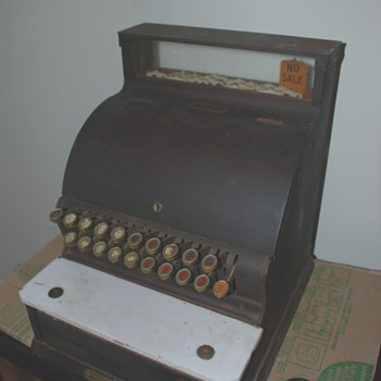 National Cash Register #720 - Coin Operated