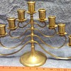 9 Lamp/Sockets Candelabra/Menorah