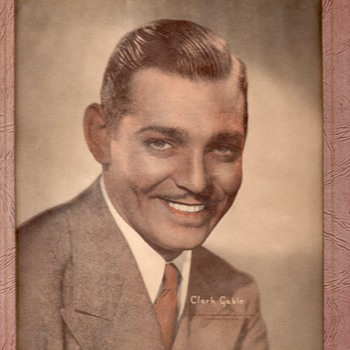 "PRINT OF CLARK GABLE FOR PICTURE FRAME ""GORGEOUS""!!!!"