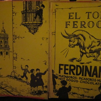 Ferdinand The Bull - Books