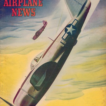 1944 - Model Airplane News magazine - December