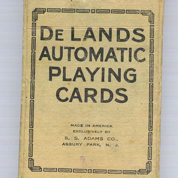 De Lands Automatic Playing Cards - Cards