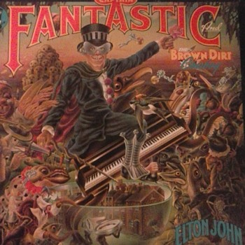 Elton Johns` Comic Book! - Records