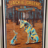 Jackie Greene screen print by Derek Johnson