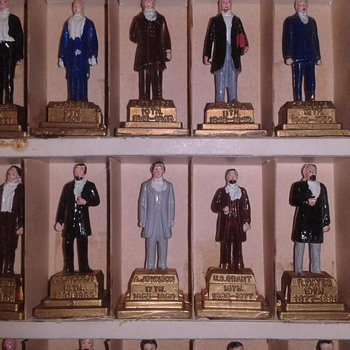 Hand Painted Presidential Miniatures (1960's) - Toys