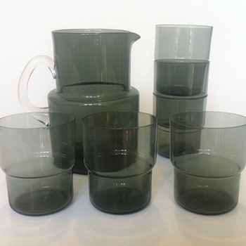 Saara Hopea - drinking set - Art Glass