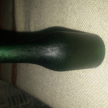 A green bottle