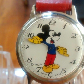 """Topolino"" Series Character Watches"
