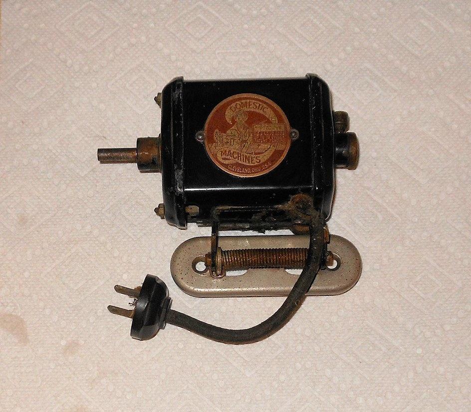 Electrical Sewing Machine : Domestic machines electric sewing machine motor