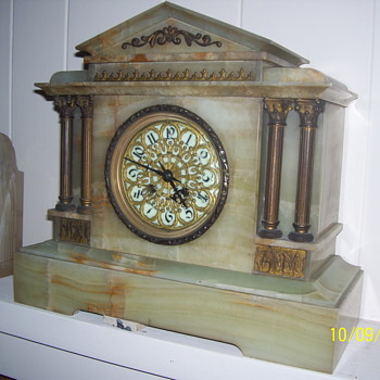 1800s Mantel Clock - Clocks