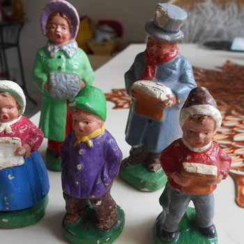 West Germany Carolers - Christmas