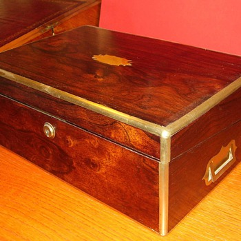 Victorian Rosewood Writing Slope - Office