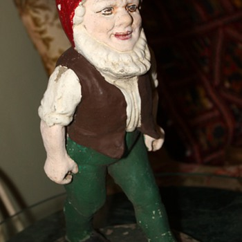 Old Walking Gnome - Art Pottery