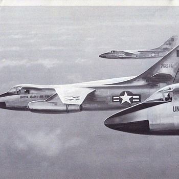 Douglas Aircraft Series A3D Skywarrior & B-66B Destroyer - Advertising