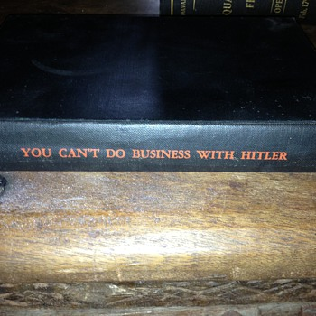 YOU CAN'T DO BUSINESS WITH HITLER - Books