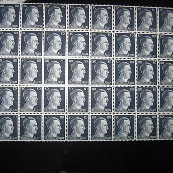 German WWII stamps .............