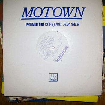 "Motown Soundtrack DJ copy "" Movie Loving couples"" - Records"