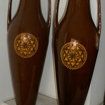 Amstelhoek large vases (1903) - Art Pottery