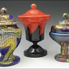 Three More Bohemian Lidded Jars